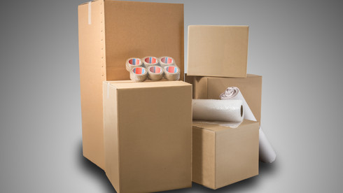 Professional packing materials available