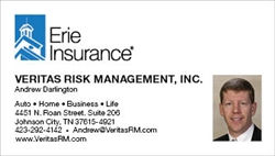 Veritas Risk Management Business Card 20