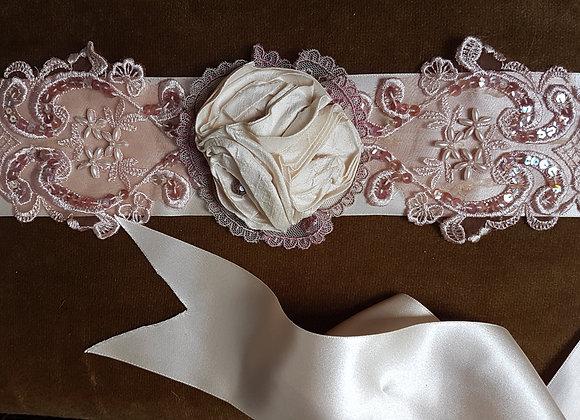 CLAUDETTE - bridal sash