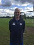Photo of Barry Smith, Manager of Chigwell Boys FC Chigwell Vets