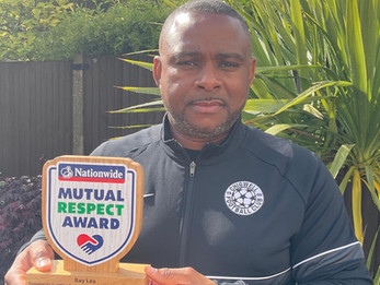 RAY'S ONE MAN MISSION TO PUT RESPECT IN THE GAME WINS NATIONWIDE MUTUTAL RESPECT AWARD