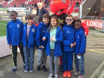 Chigwell Boys visit Leyton Orient