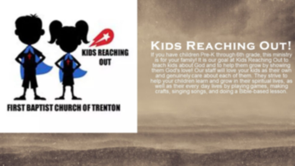 Kids Reaching Out