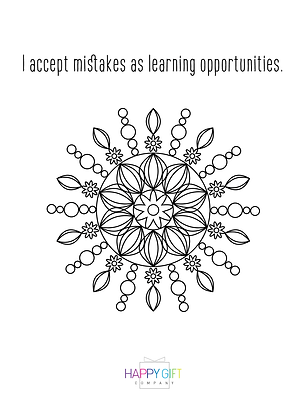 Daily Affirmation Coloring Download 3