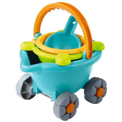 Sand Bucket Toy with Wheels for Kids by Haba