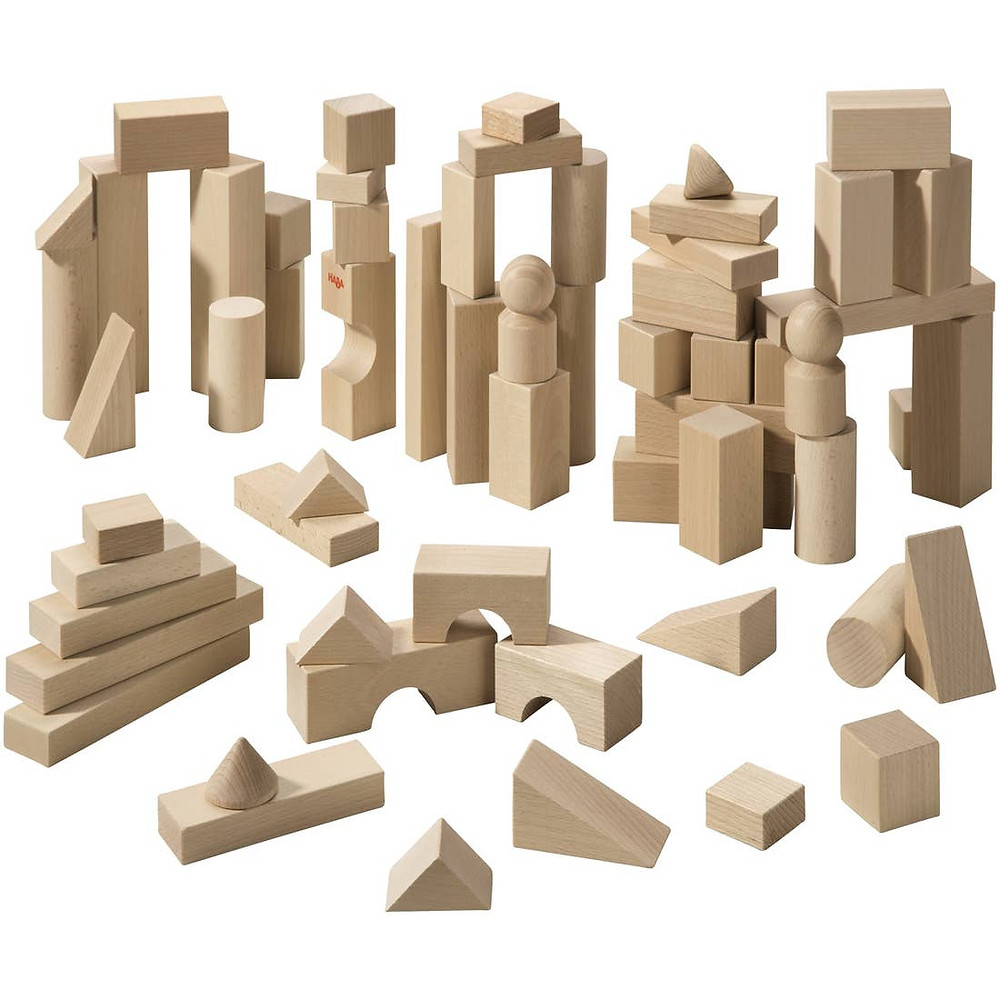 Wooden Blocks for Open-Ended Play