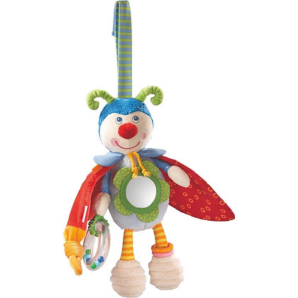 Hanging Activity Stuffed Toy Beetle for Babies