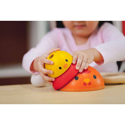 Chicken Nesting Toy For Toddlers