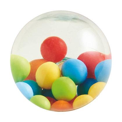 Kullerbu Rainbow Bouncy Balls for Giant Marble Run