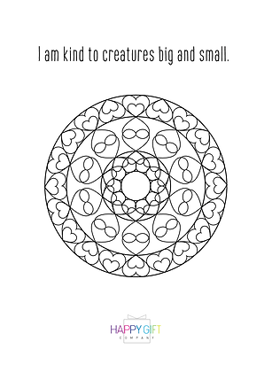 Daily Affirmation Coloring Download