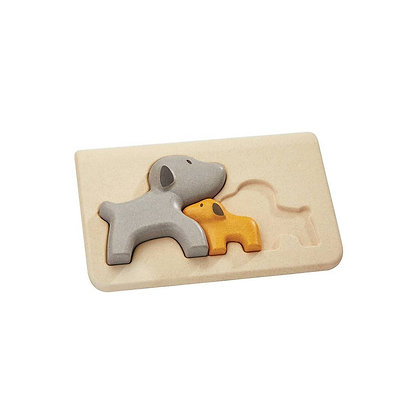 Sustainable Dog Puzzle Toy for Toddlers