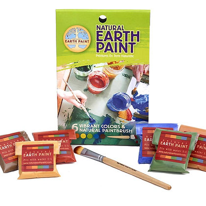 Natural Paints for Kids