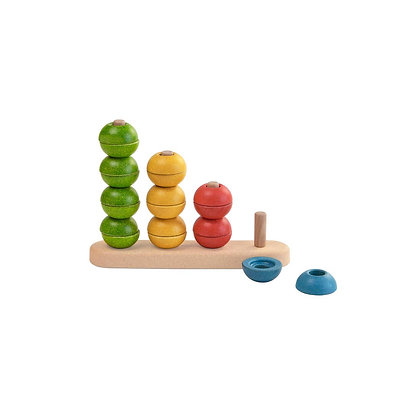 Stacking Sorting and Counting Toy for Toddlers