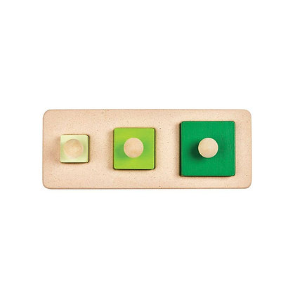 Montessori Style Square Matching Puzzle