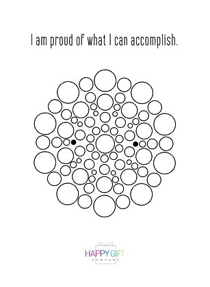 Daily Affirmation Coloring Download 2