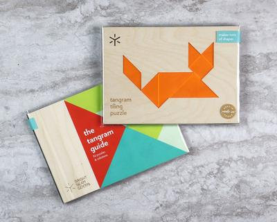 Cat Tangram Puzzle with Additional Combinations