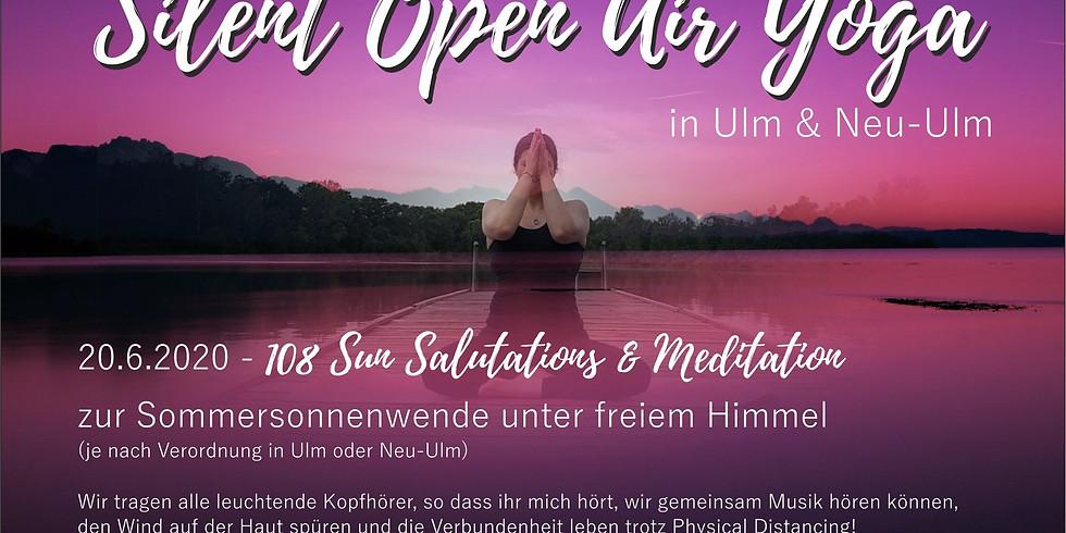 Silent 108 Sun Salutations & Meditation
