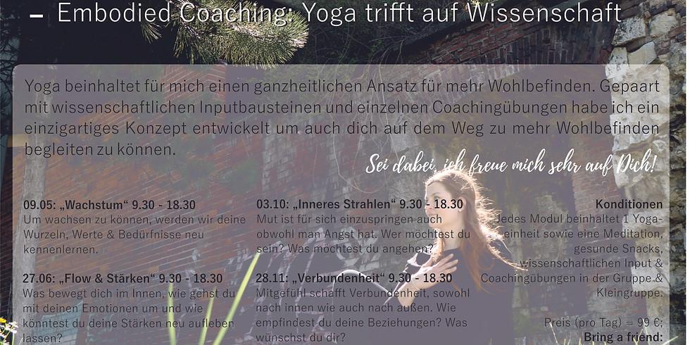 Yoga Tag - Wachstum (Embodied Coaching)