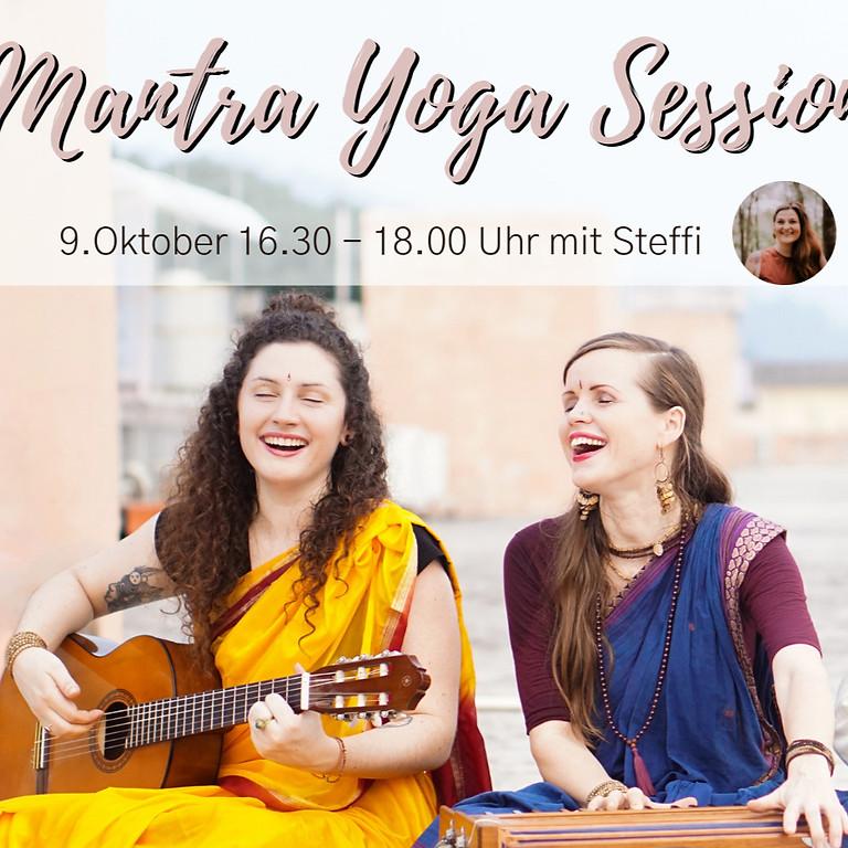 Mantra Yoga Stunde mit Akasha - Alchemy of Sound & Steffi