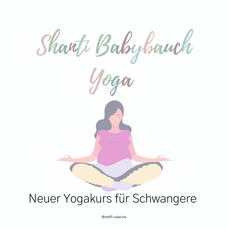 Shanti Babybauch Yoga für Schwangere (11 Termine + Schnuppertermin)