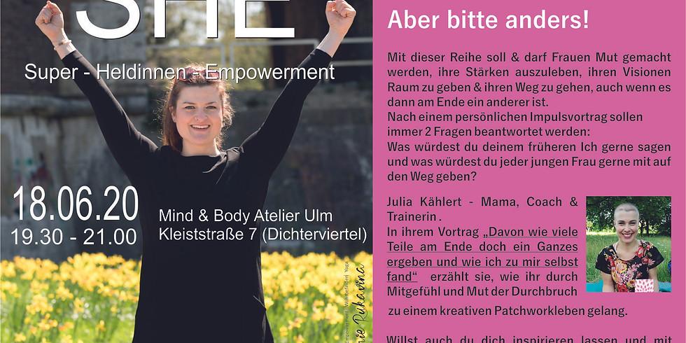 SUPER HELDINNEN EMPOWERMENT mit Julia Kählert