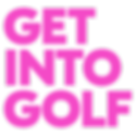 Pink get into golf logo.png