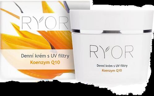 Денний крем з UV-фільтром з коензимом Q10 (баночка) RYOR