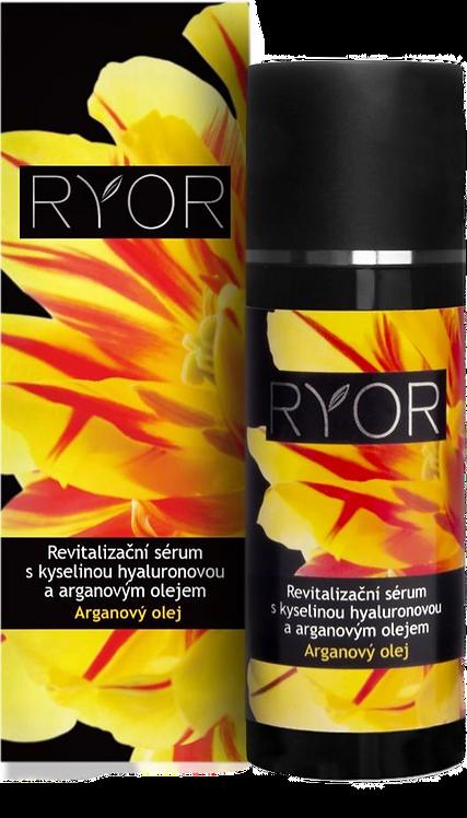 Відновлювальна сироватка з гіалуроновою кислотою та аргановою олією RYOR