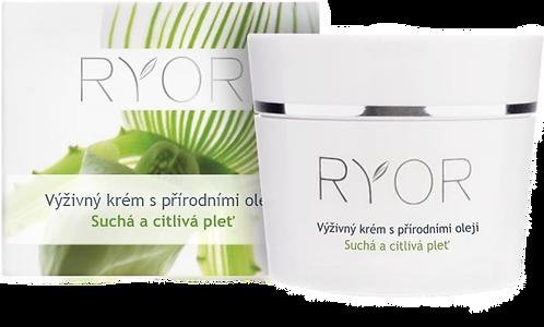 Питательный крем с натуральными маслами RYOR