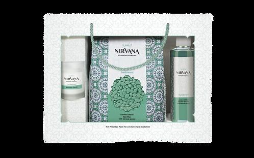Подарунковий набір для аромадепіляції Сандал NIRVANA ItalWax
