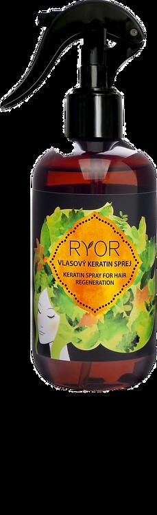 Кератин-спрей для волосся (флакон з розпилювачем) RYOR