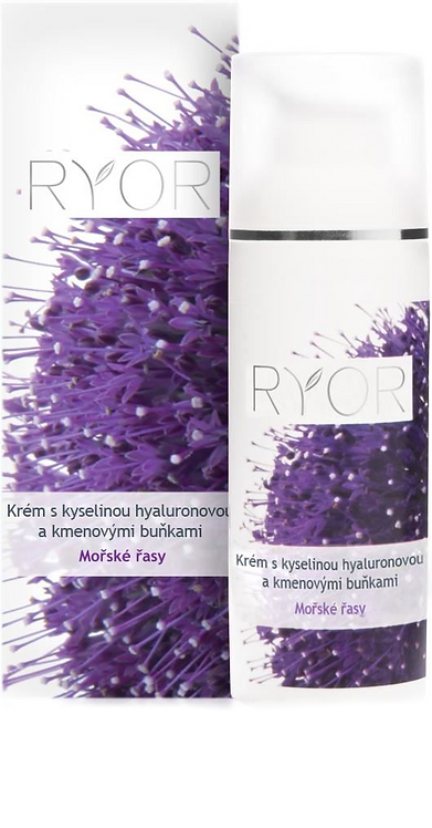 Крем з гіалуроновою кислотою та стовбурними клітинами (дозатор) RYOR