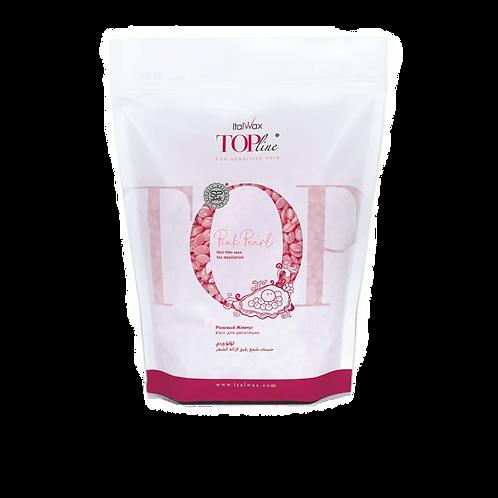 Гарячий віск Рожева перлина TOP Formula ItalWax у гранулах, преміумклас, 750 г