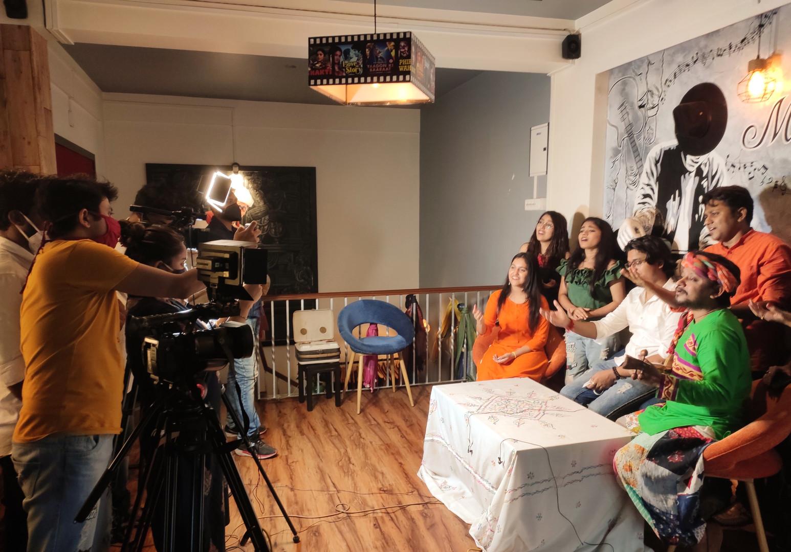 Mile Sur Mera Tumhara Media Interactions