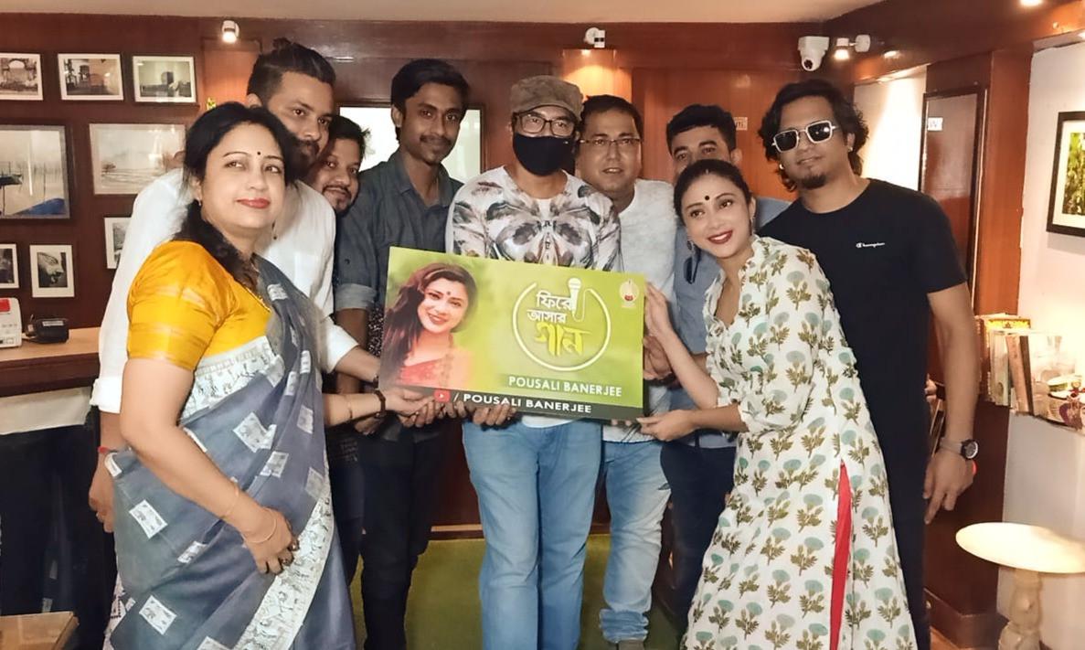 Music Launch of Pousali Banerjee