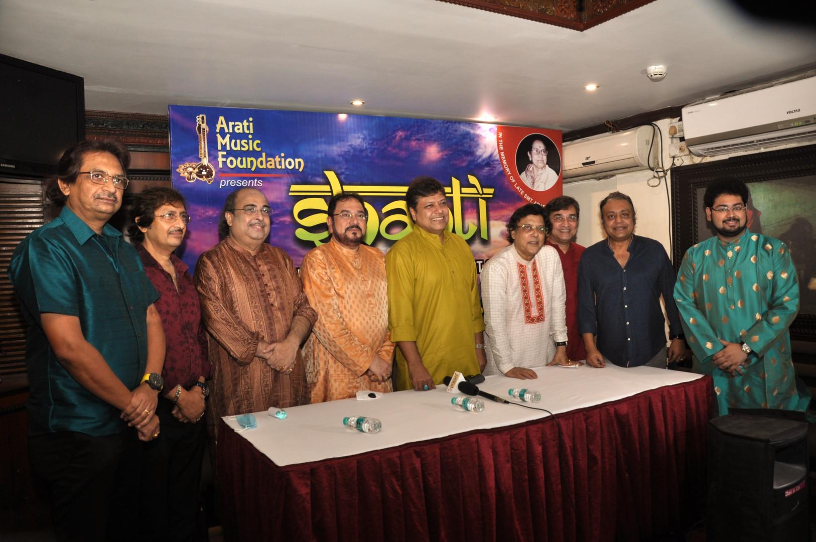 Press Conference of 'Shanti'