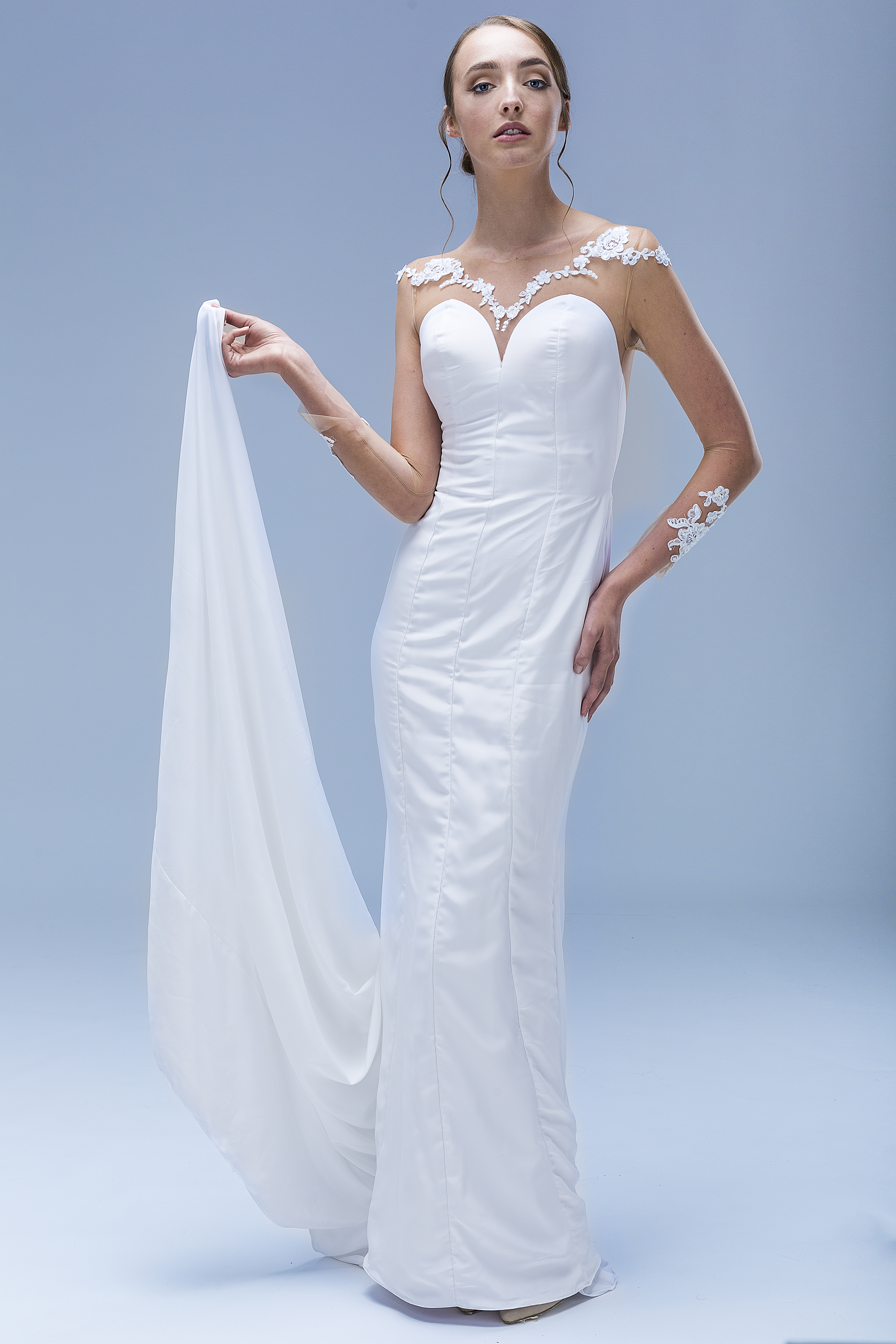 Wedding dress, custom bridal gown