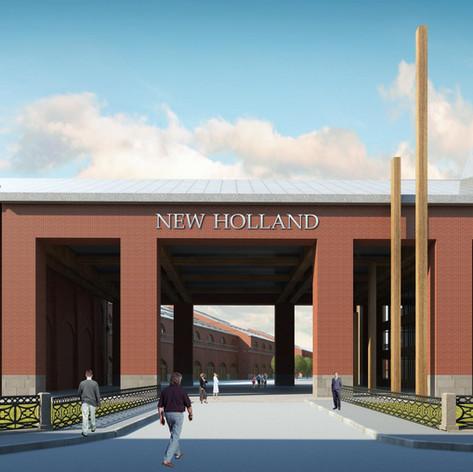 Концепция Реконструкции Острова Новая Голландия