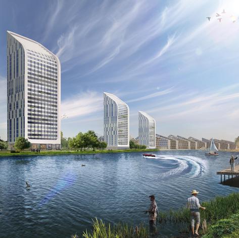 Mixed-Use Development on Kama River