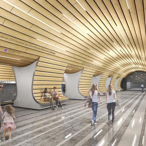 Rjevskaya Underground Station