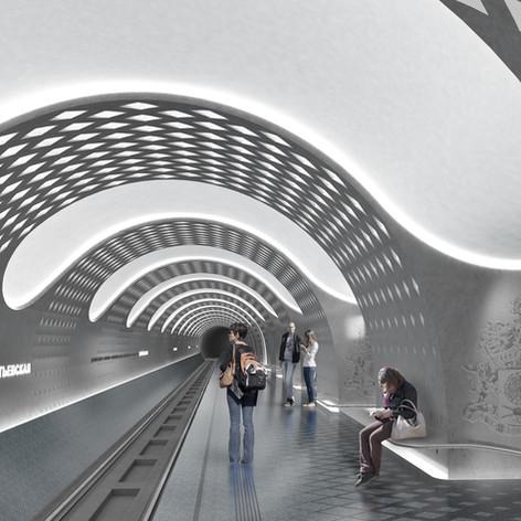 Sheremetievskaya Underground Station