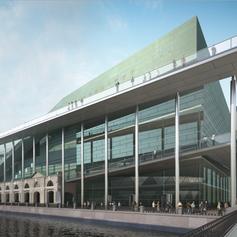 Фасады Нового Мариинского Театра