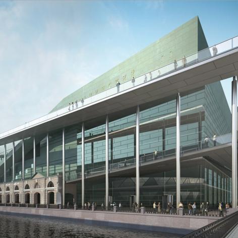 New Mariinsky Theatre Facades
