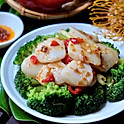 Scallop w/Vegetable in XO Sauce