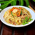 Singapore Style Fried Rice Noodles