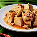 Spicy Mapo Tofu w/Ground Pork