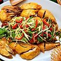 Crispy Chicken w/Ginger & Scallion Whole