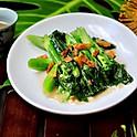 Stir Fried Chinese Broccoli w/Dried Fish