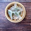 Spinach w/Scallop Dumpling (3 pcs)