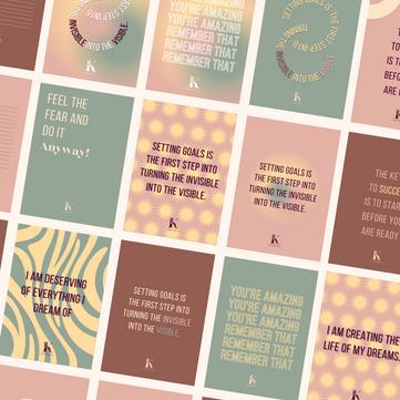 HashtagK | Persoonlijke kaarten
